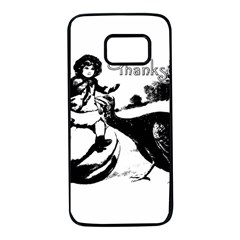 Vintage Thanksgiving Samsung Galaxy S7 Black Seamless Case