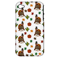 Thanksgiving Turkey  Apple Iphone 4/4s Hardshell Case (pc+silicone)