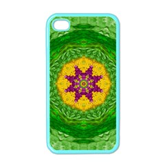 Feathers In The Sunshine Mandala Apple Iphone 4 Case (color)