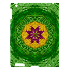 Feathers In The Sunshine Mandala Apple Ipad 3/4 Hardshell Case