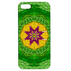 Feathers In The Sunshine Mandala Apple Iphone 5 Hardshell Case With Stand