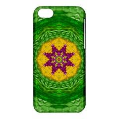 Feathers In The Sunshine Mandala Apple Iphone 5c Hardshell Case