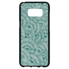 Design Art Wesley Fontes Samsung Galaxy S8 Black Seamless Case