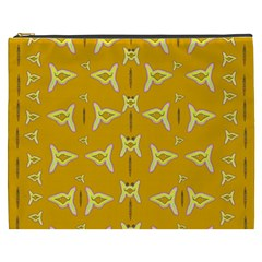 Fishes Talking About Love And   Yellow Stuff Cosmetic Bag (xxxl)