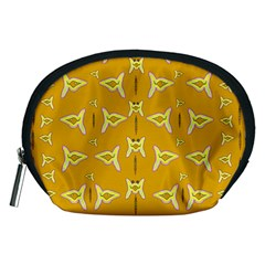 Fishes Talking About Love And   Yellow Stuff Accessory Pouches (medium)