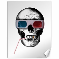 Cinema Skull Canvas 18  X 24