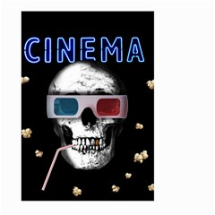 Cinema Skull Large Garden Flag (two Sides)