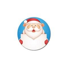 Christmas Santa Claus Letter Golf Ball Marker (10 Pack)