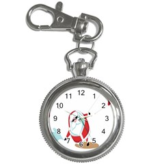 Christmas Santa Claus Snow Cool Sky Key Chain Watches