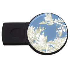 Nature Pattern Usb Flash Drive Round (4 Gb)