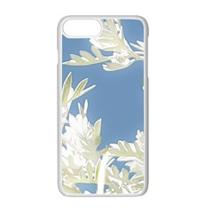 Nature Pattern Apple Iphone 7 Plus Seamless Case (white)