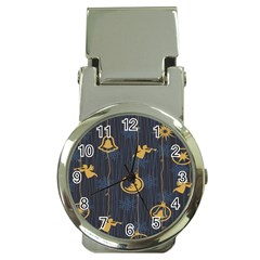 Christmas Angelsstar Yellow Blue Cool Money Clip Watches