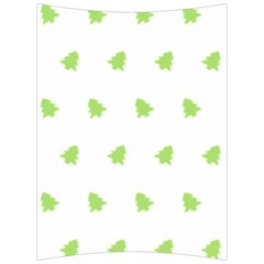 Christmas Tree Green Back Support Cushion