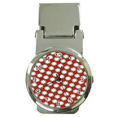 Christmas Star Red Green Money Clip Watches