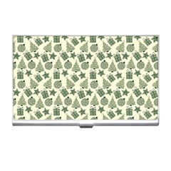 Christmas Pattern Gif Star Tree Happy Business Card Holders