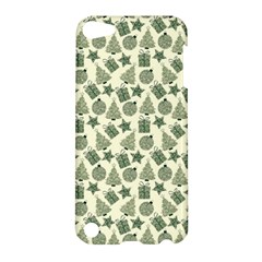 Christmas Pattern Gif Star Tree Happy Apple Ipod Touch 5 Hardshell Case