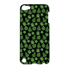 Christmas Pattern Gif Star Tree Happy Green Apple Ipod Touch 5 Hardshell Case