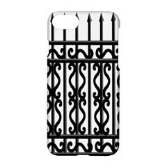 Inspirative Iron Gate Fence Grey Black Apple Iphone 8 Hardshell Case