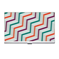 Line Color Rainbow Business Card Holders