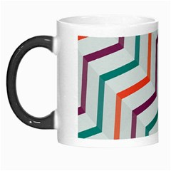 Line Color Rainbow Morph Mugs