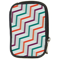 Line Color Rainbow Compact Camera Cases