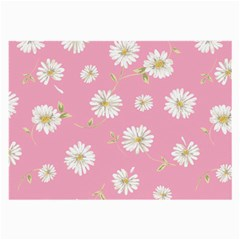 Pink Flowers Large Glasses Cloth