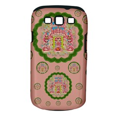 Sankta Lucia With Friends Light And Floral Santa Skulls Samsung Galaxy S Iii Classic Hardshell Case (pc+silicone)