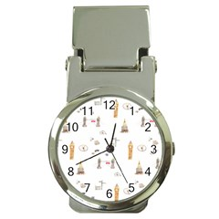 Graphics Tower City Town Money Clip Watches