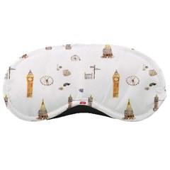 Graphics Tower City Town Sleeping Masks