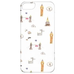 Graphics Tower City Town Apple Iphone 5 Classic Hardshell Case