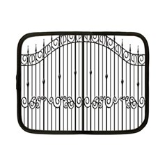 Inspirative Iron Gate Fence Netbook Case (small)