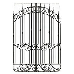 Inspirative Iron Gate Fence Flap Covers (s)