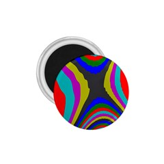 Pattern Rainbow Colorfull Wave Chevron Waves 1 75  Magnets