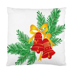 New Year Christmas Bells Tree Standard Cushion Case (two Sides)