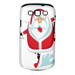 Surfing Snow Christmas Santa Claus Samsung Galaxy S Iii Classic Hardshell Case (pc+silicone)