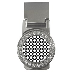 Tileable Circle Pattern Polka Dots Money Clips (cz)