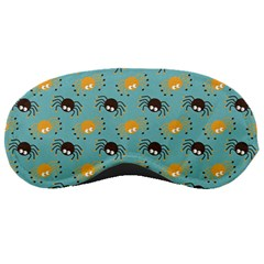 Spider Grey Orange Animals Cute Cartoons Sleeping Masks