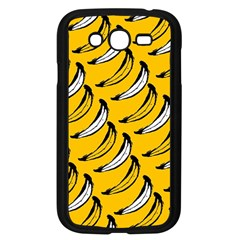 Fruit Bananas Yellow Orange White Samsung Galaxy Grand Duos I9082 Case (black)