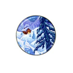 Christmas Wooden Snow Hat Clip Ball Marker
