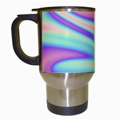 Holographic Design Travel Mugs (white)
