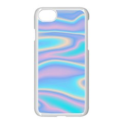 Holographic Design Apple Iphone 8 Seamless Case (white)