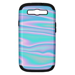Holographic Design Samsung Galaxy S Iii Hardshell Case (pc+silicone)