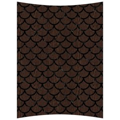 Scales1 Black Marble & Dark Brown Wood Back Support Cushion