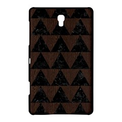 Triangle2 Black Marble & Dark Brown Wood Samsung Galaxy Tab S (8 4 ) Hardshell Case