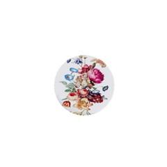 Fleur Vintage Floral Painting 1  Mini Magnets