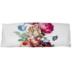 Fleur Vintage Floral Painting Body Pillow Case Dakimakura (two Sides)