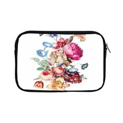 Fleur Vintage Floral Painting Apple Ipad Mini Zipper Cases
