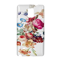 Fleur Vintage Floral Painting Samsung Galaxy Note 4 Hardshell Case