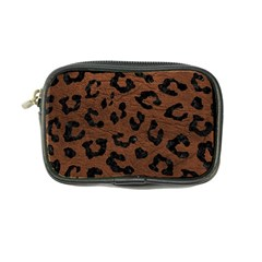 Skin5 Black Marble & Dull Brown Leather (r) Coin Purse