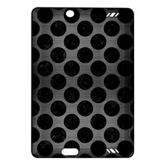 Circles2 Black Marble & Gray Brushed Metal Amazon Kindle Fire Hd (2013) Hardshell Case